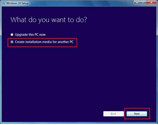 support d'installation pour un autre PC