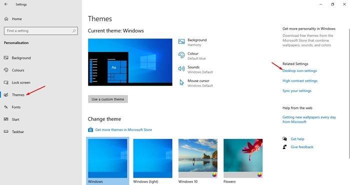 système sous Windows 10.