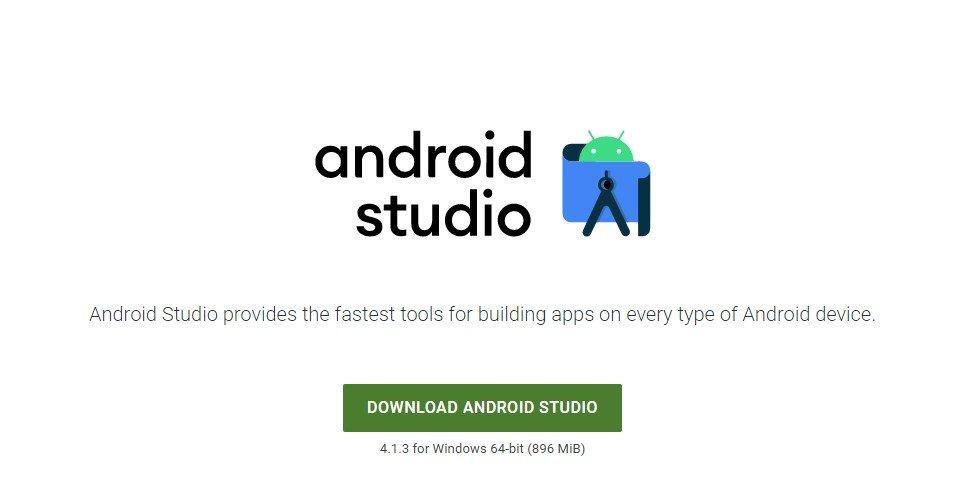 téléchargez Android Studio sur votre ordinateur
