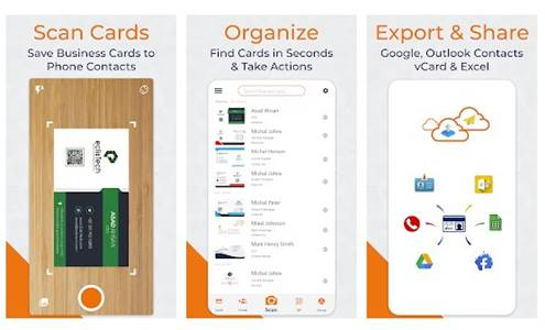 10. Business Card Scanner by EclixTech