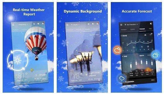 GO Weather - meilleurs widgets météo