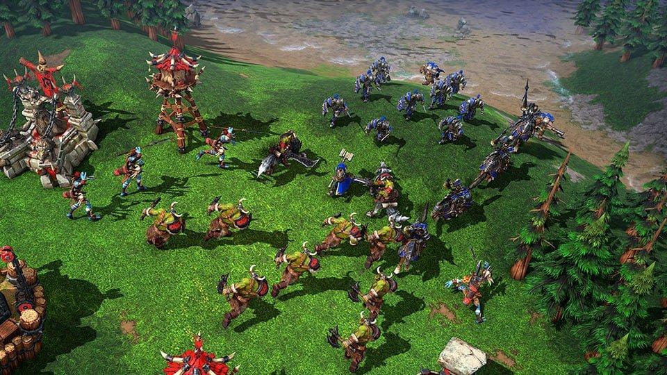 Warcraft III - jeu de stratégie pour PC