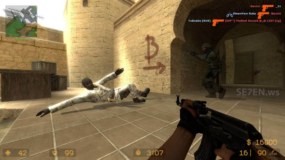 2. Counter-Strike Global Offensive