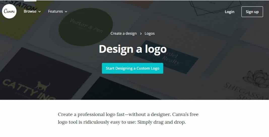 3. Canva Logo Maker