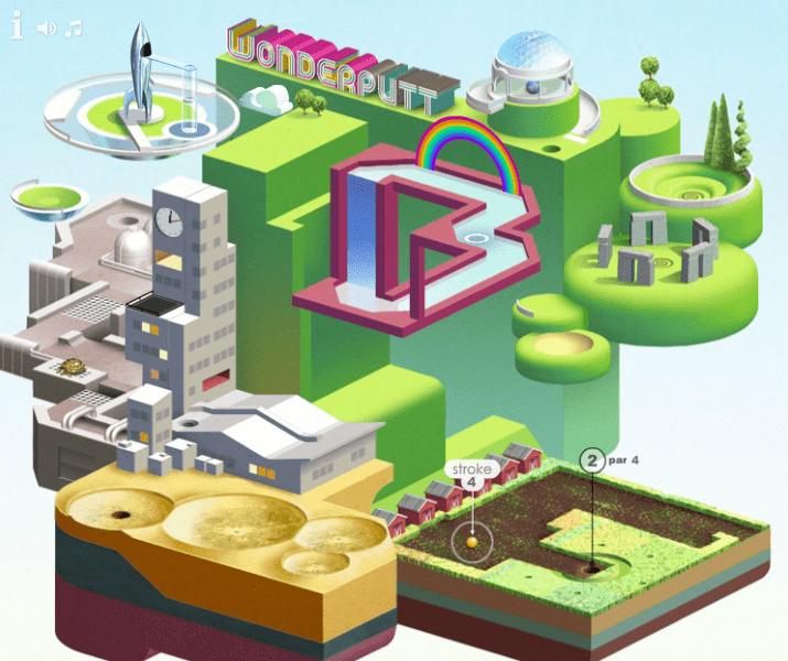 Wonderputt - meilleur jeu par navigateur