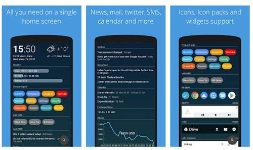 AIO Launcher - meilleurs launchers Android