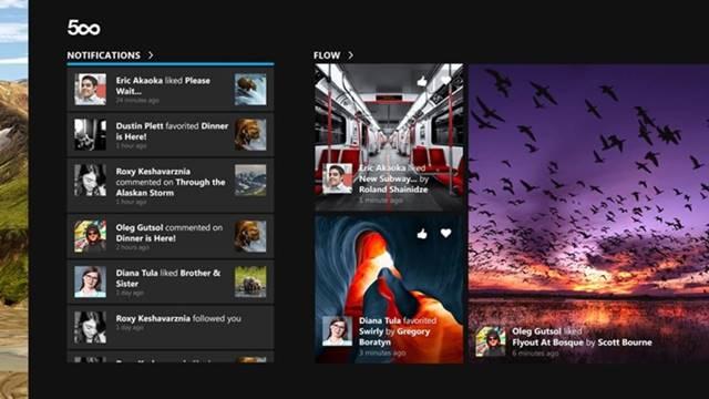 4. My 500px - applications fond d'écran