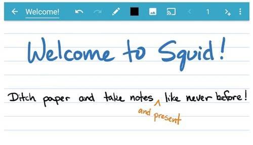 Squid - meilleure alternative à Microsoft OneNote