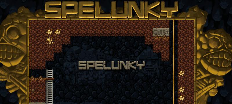 Spelunky - meilleur jeu par navigateur