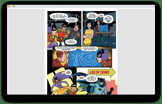 6. Astonishing Comic Reader