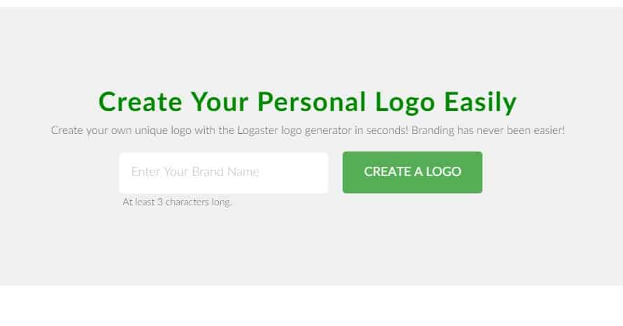 6. Logaster Logo Maker