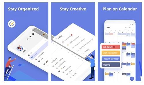 TickTick - meilleure alternative à Microsoft OneNote