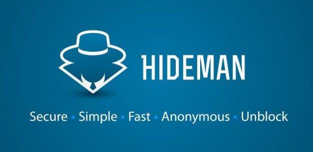 7. Hideman VPN
