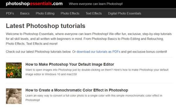 7. Photoshop Essentials