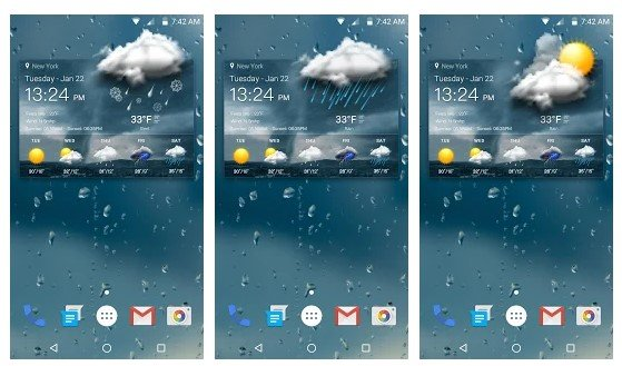8. Live Weather&Local Weather