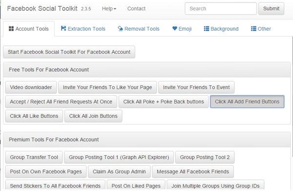 Cliquez sur le bouton Tout ajouter des amis.