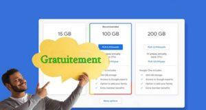 Comment augmenter gratuitement l'espace de stockage Google