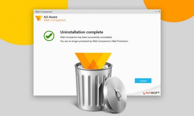 Comment désinstaller l'application Adaware Web Companion à partir de Windows