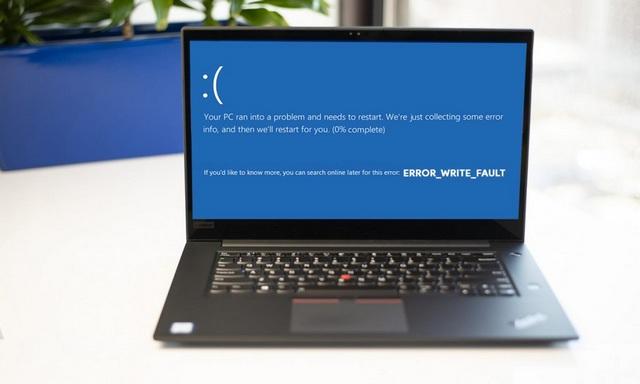 Comment réparer ERROR_WRITE_FAULT sur Windows 10