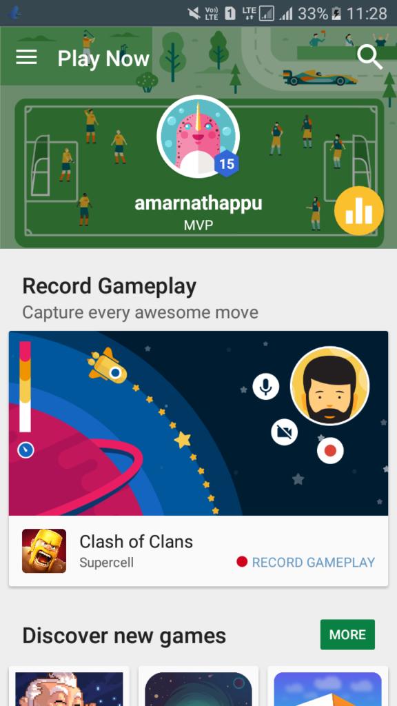 Google Play Games .