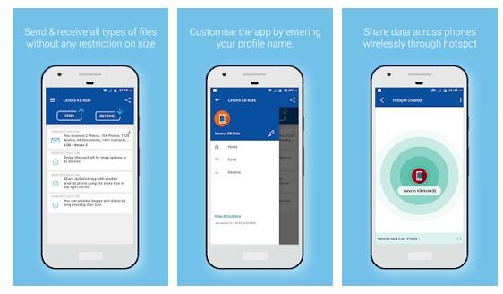 JioSwitch - alternatives à SHAREit pour Android