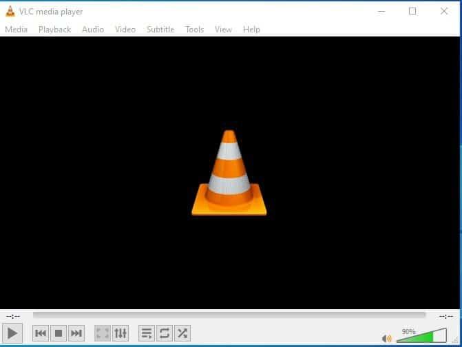 Ouvrezmaintenantle lecteur multimédia VLCsur votre PC.