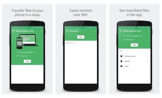 Portal – WiFi File Transfers