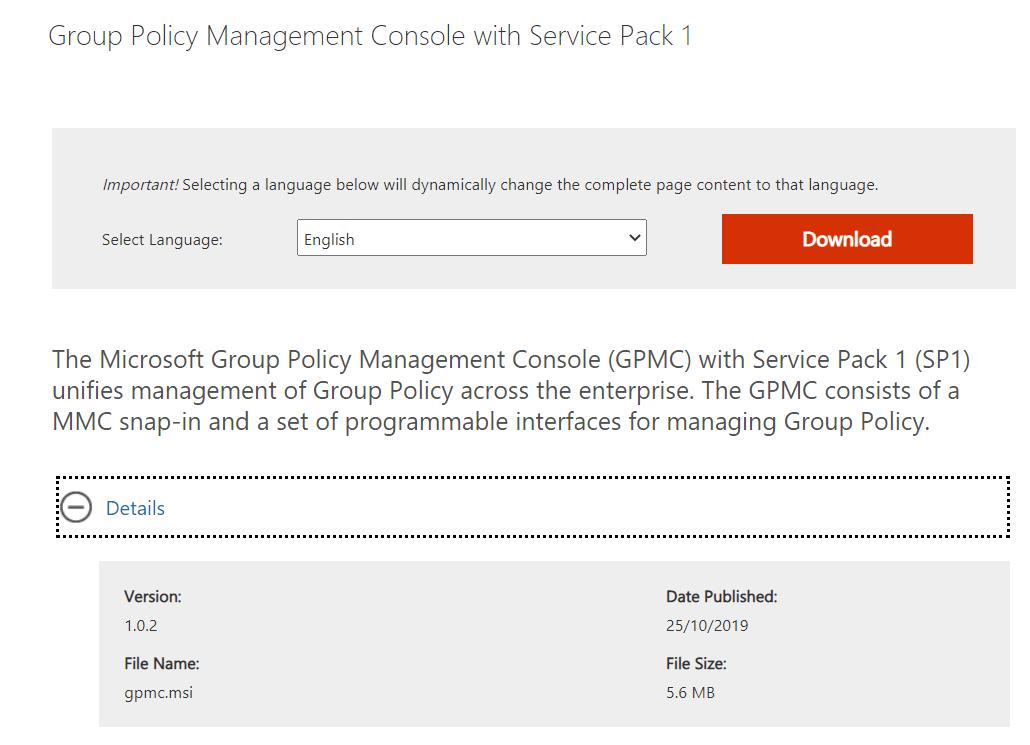 Utiliser le programme d'installation de GPEdit