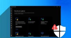 Windows Defender provoquant une erreur Appleidav
