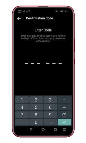 activez l'option Message texte.