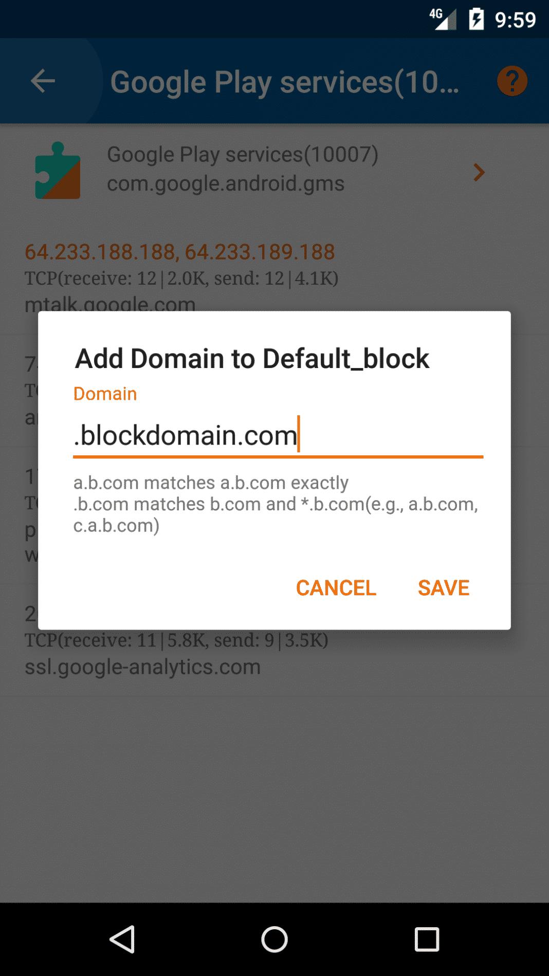 appuyez sur le bouton Enregistrer.