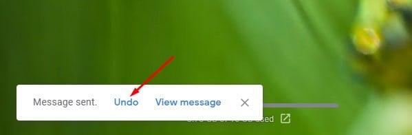 appuyez sur le bouton d'envoi.