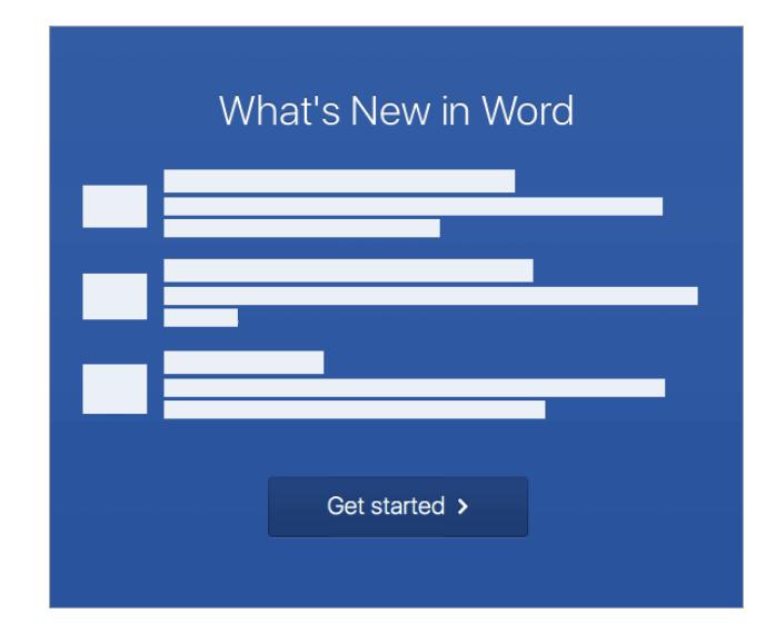 cliquez sur le bouton Commencer.