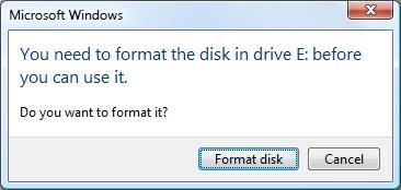 connecter une clé USB