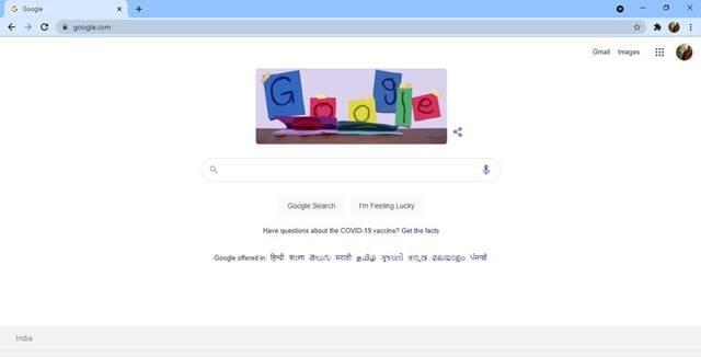ouvrez le navigateur Web Google Chrome