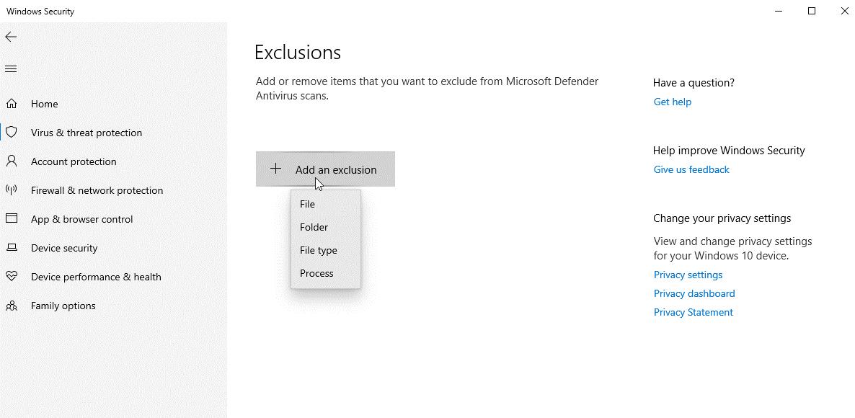 sélectionnez l'option Fichier.