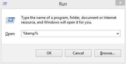 supprimer les fichiers temporaires de votre PC