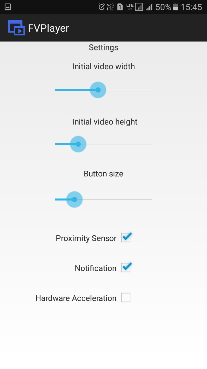 vous devez maintenant ajuster la largeur initiale de la vidéo