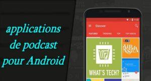 10 meilleures applications de podcast gratuites pour votre appareil Android