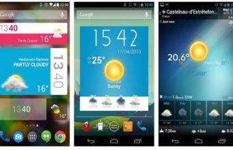 Les meilleurs widgets Android