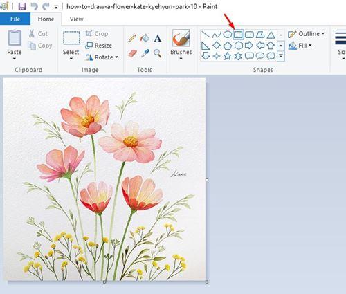 Ajouter facilement des bordures à une image dans Windows 10