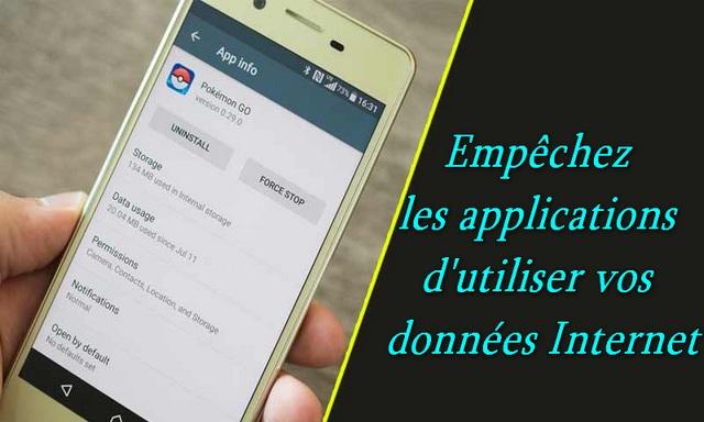 Comment empêcher les applications Android d'utiliser des données en arrière-plan