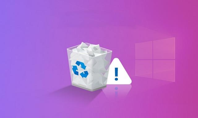 Comment réparer l'erreur d'association de la corbeille sur Windows 10