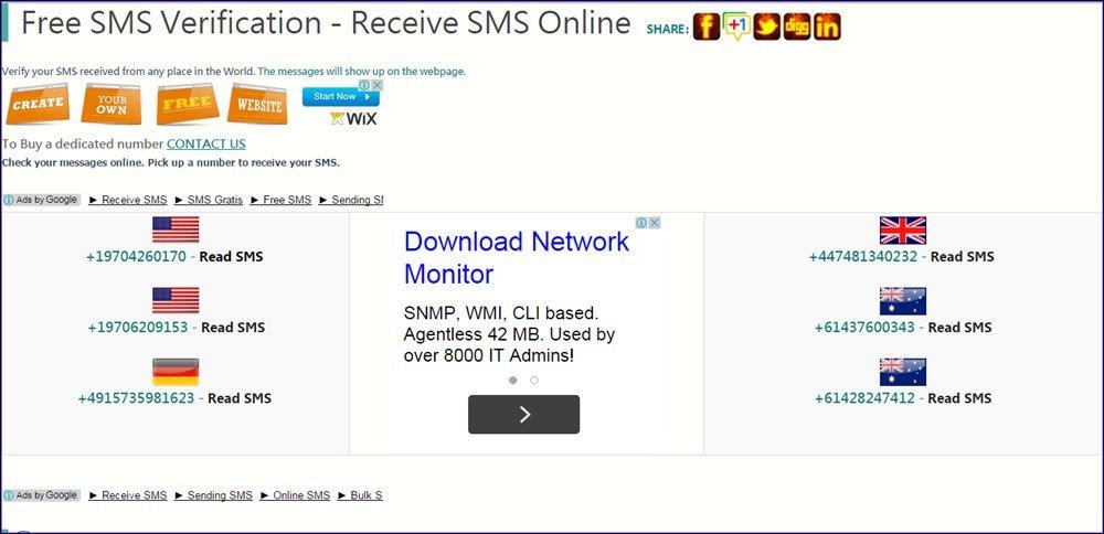 Contourner la vérification par SMS sur les sites Web