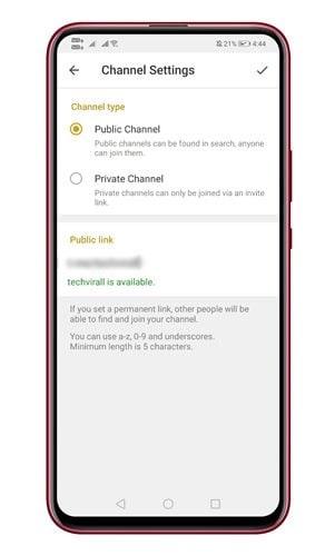 Créez facilement votre propre chaîne Telegram