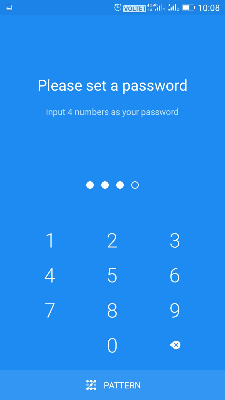 Entrez simplement votre mot de passe.