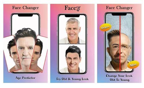 Facee - meilleure alternative à FaceApp