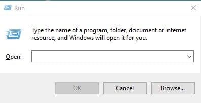 Installez XPS Viewer à partir de la commande RUN