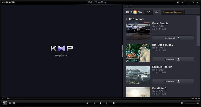 KM Player - meilleurs alternative à VLC