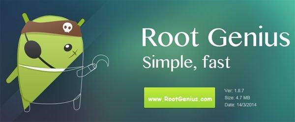 Méthode. Utilisation de Root Genius